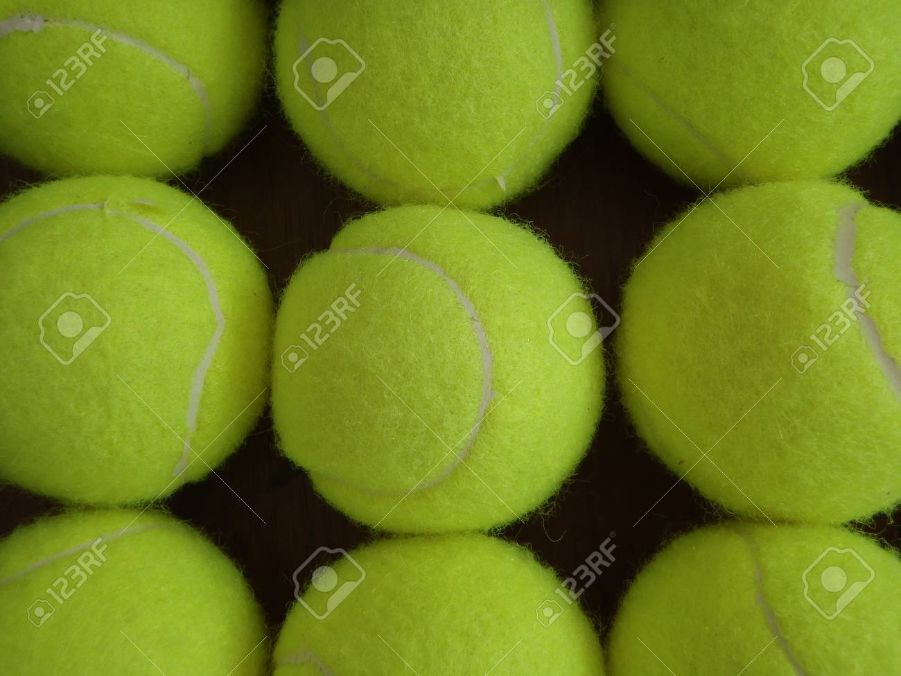 Tennis Ball Background Stock Photo Picture And Royalty Free Image