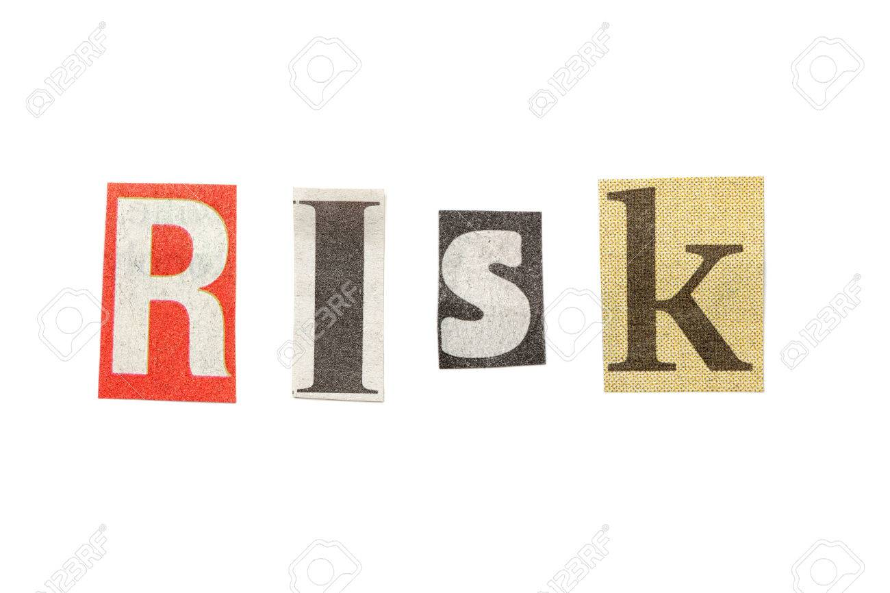 Risk words composed from isolated cutout newspaper letters stock risk words composed from isolated cutout newspaper letters stock photo 26883485 spiritdancerdesigns Choice Image