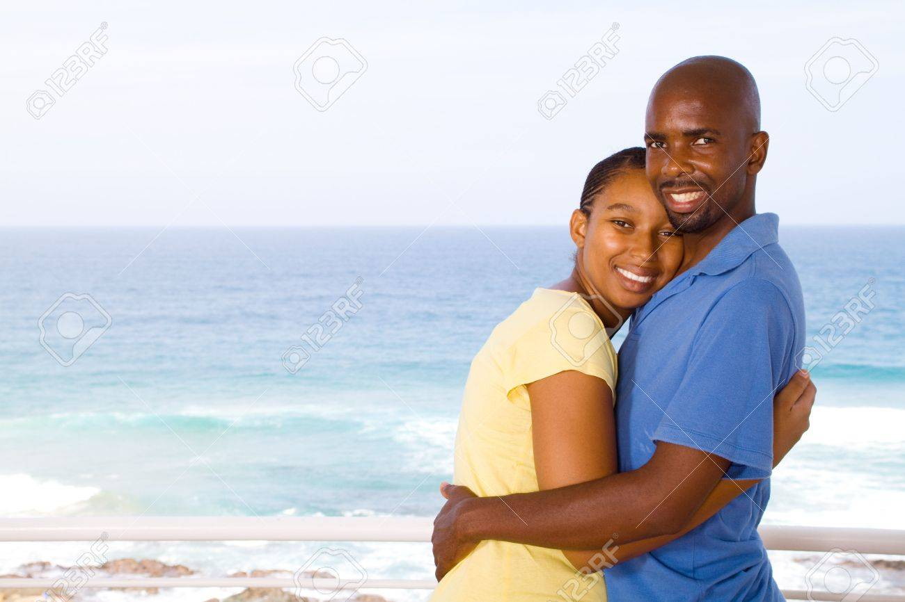 african husband and wife Stock Photo - 6656171