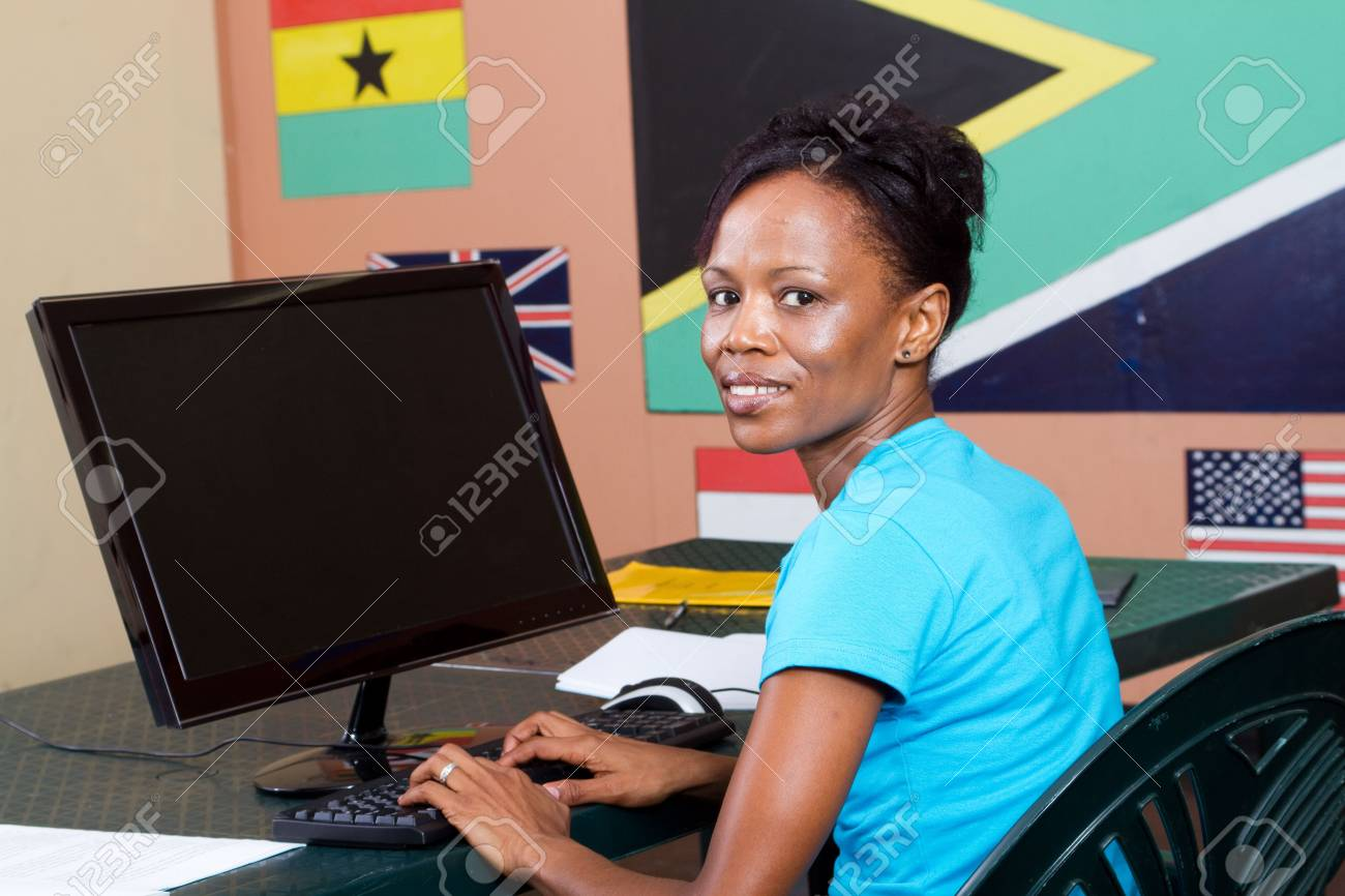 adult computer education Stock Photo - 6639042