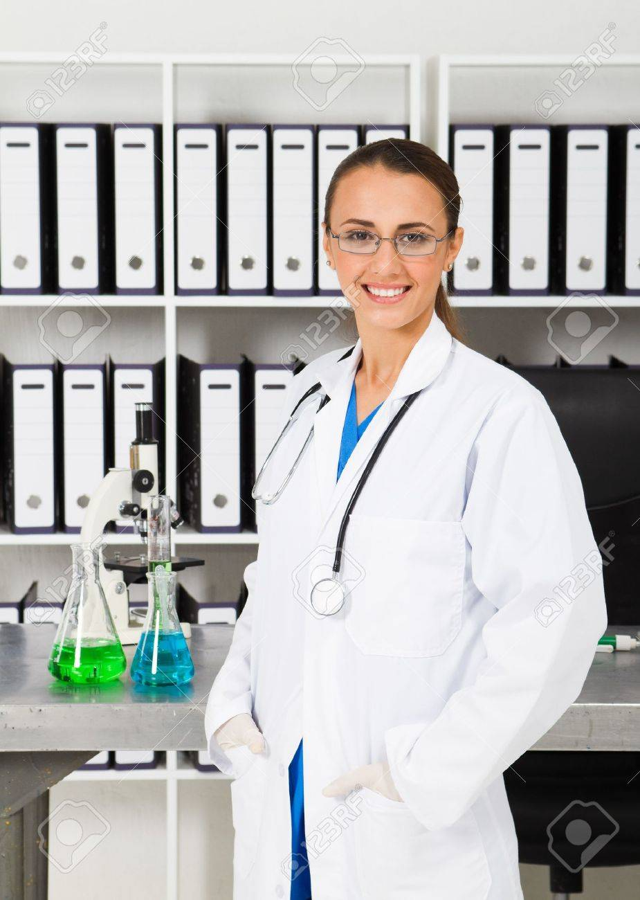 Beautiful Chemist In Lab Photo Picture And Royalty Free – Lab Chemist