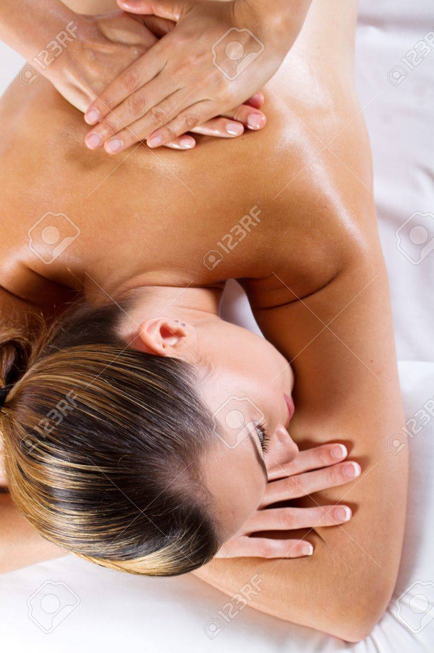 back massage Stock Photo - 9526540