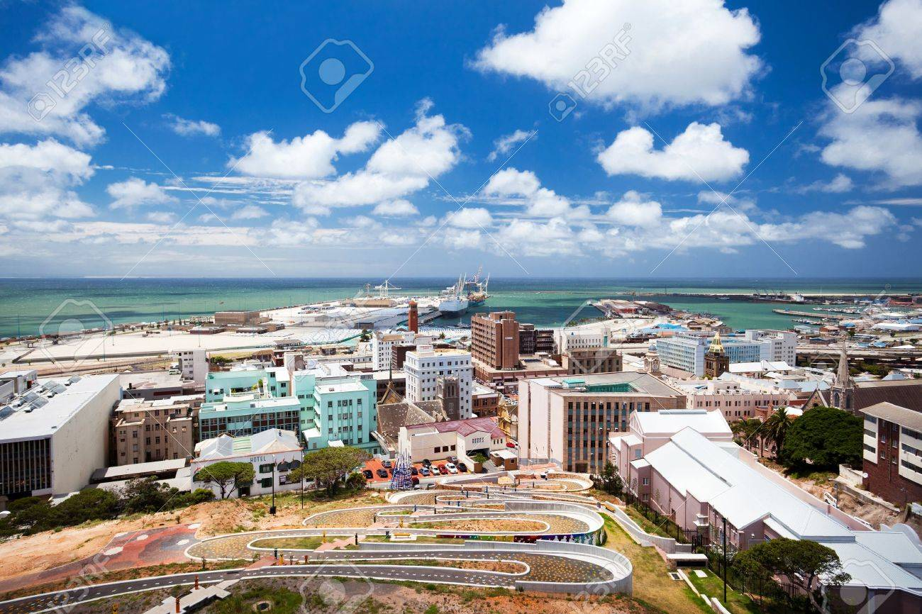 cityscape of Port Elizabeth, South Africa - 12108224