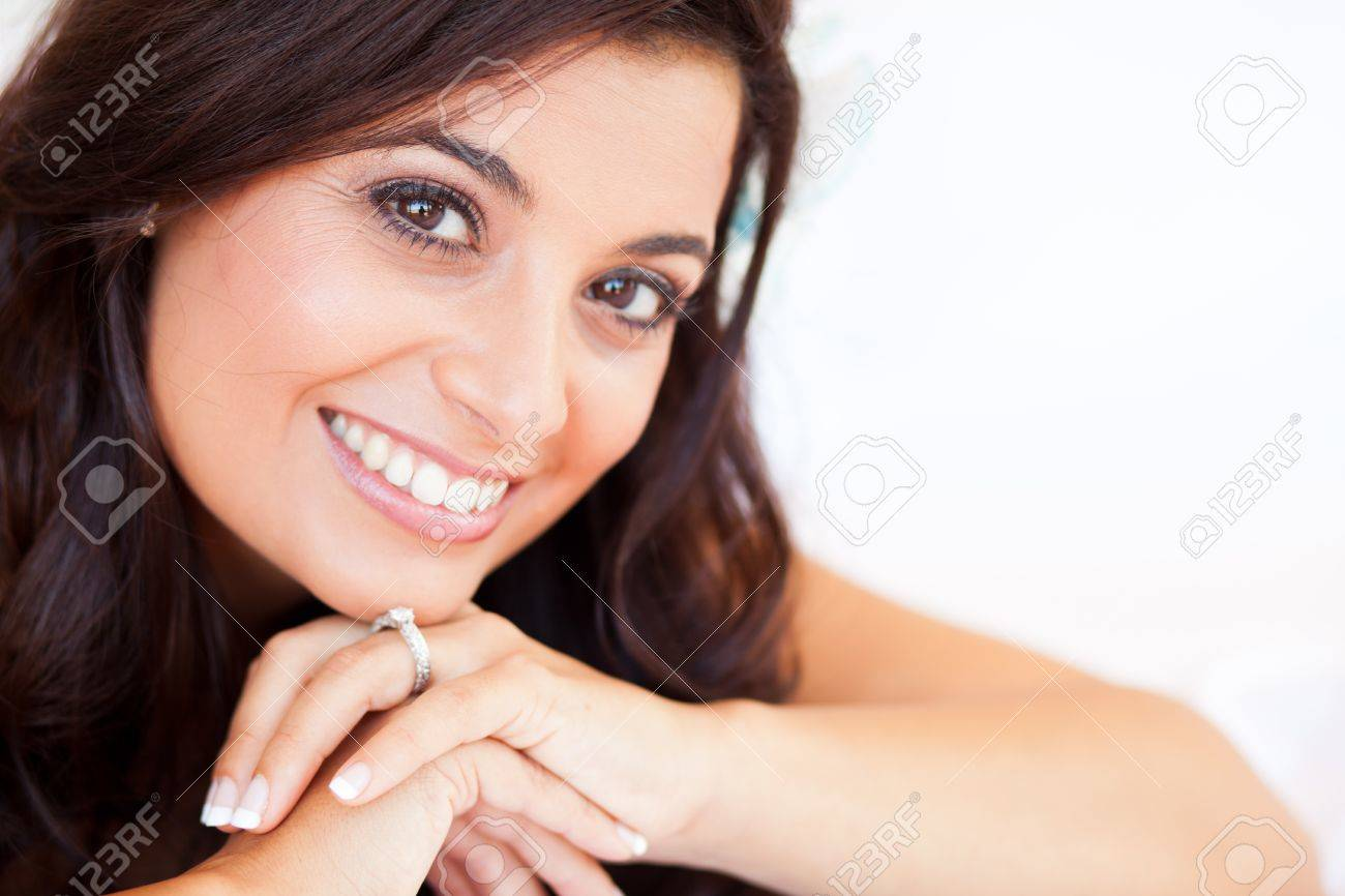 beautiful bride closeup portrait Stock Photo - 13737193