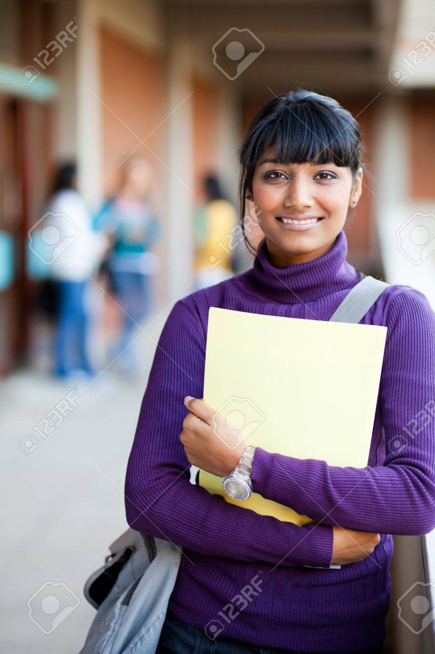 000b2bb34 Cute Indian High School Girl In School Stock Photo, Picture And ...
