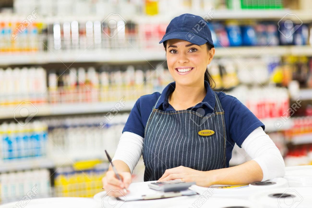 store worker