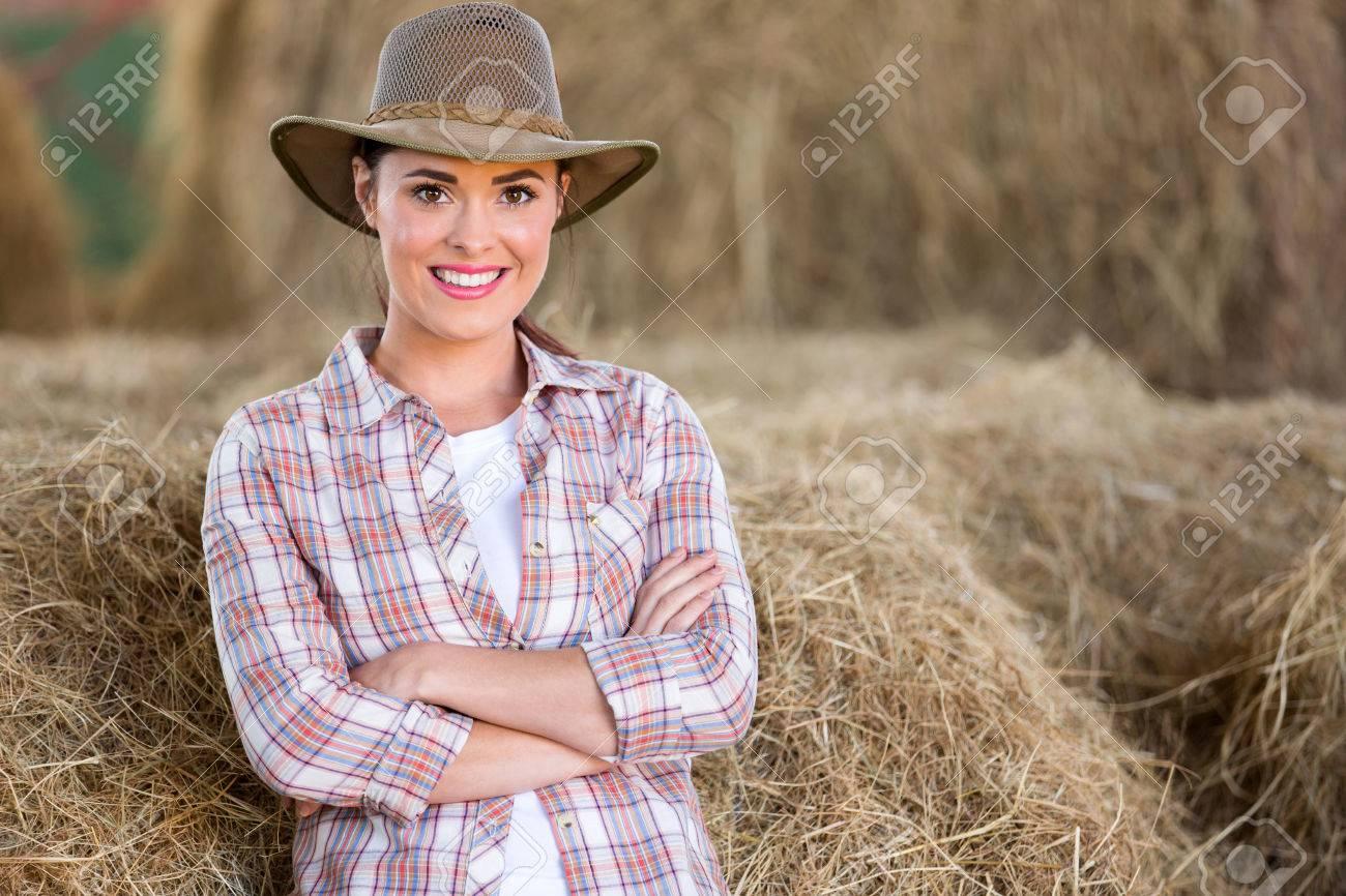 Pretty Farm Girl