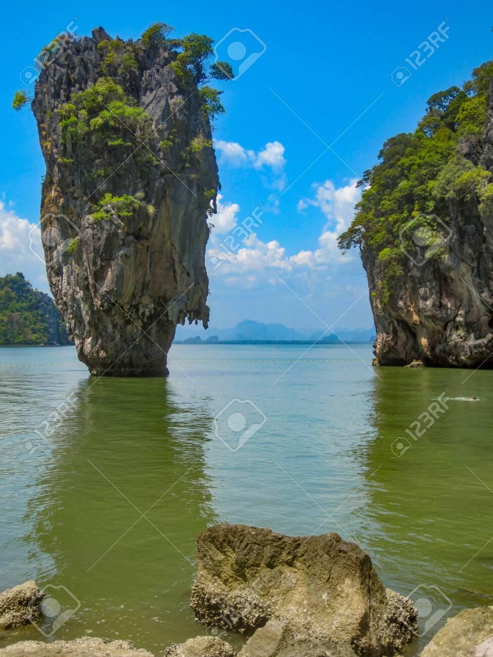 James Bond Island On Phang Nga Bay Thailand