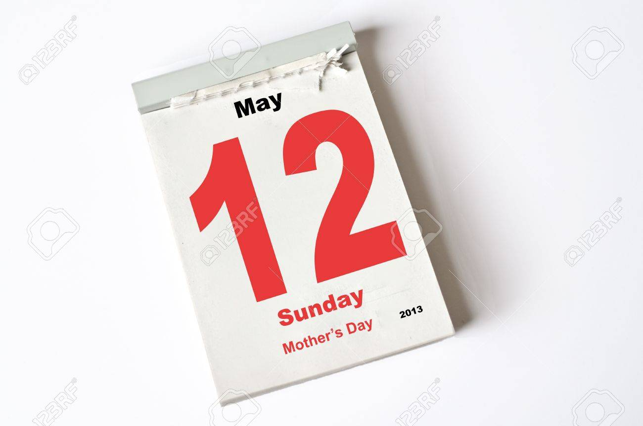 Calendar Sheet Stock Photo, Picture And Royalty Free Image. Image ...