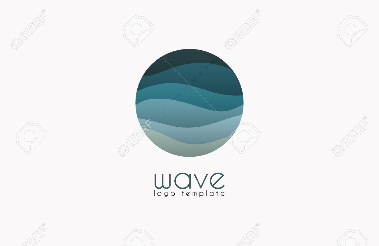 Ocean logo. Water logo. Wave logo template - 51893055