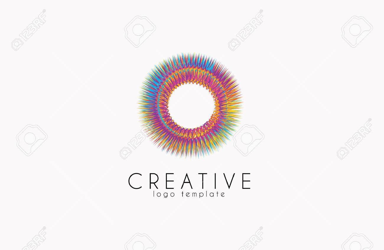 Colorful logo. geometric icon. technology logo. web net logo icon. Geometric logo. Company logo. Vector logo icon - 51893070