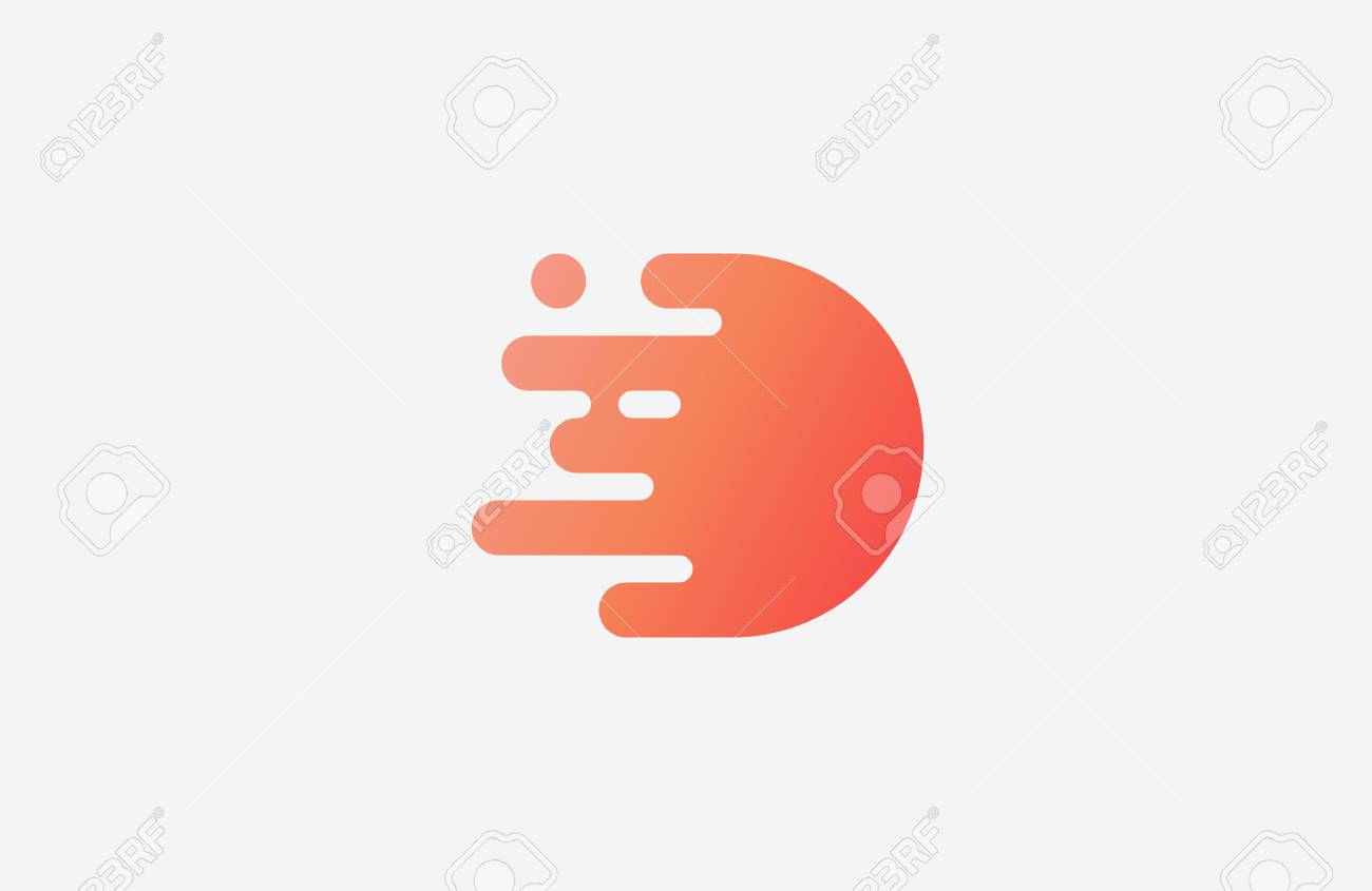 letter d icon design template elements stock vector 53382012