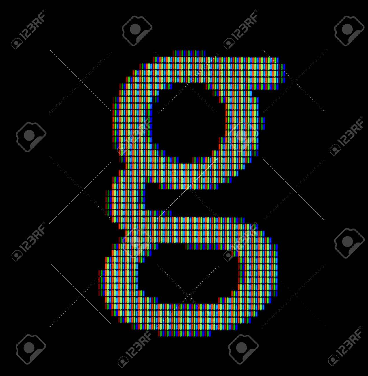 Close up of a small letter g on a computer screen stock photo close up of a small letter g on a computer screen stock photo 12698674 publicscrutiny Images