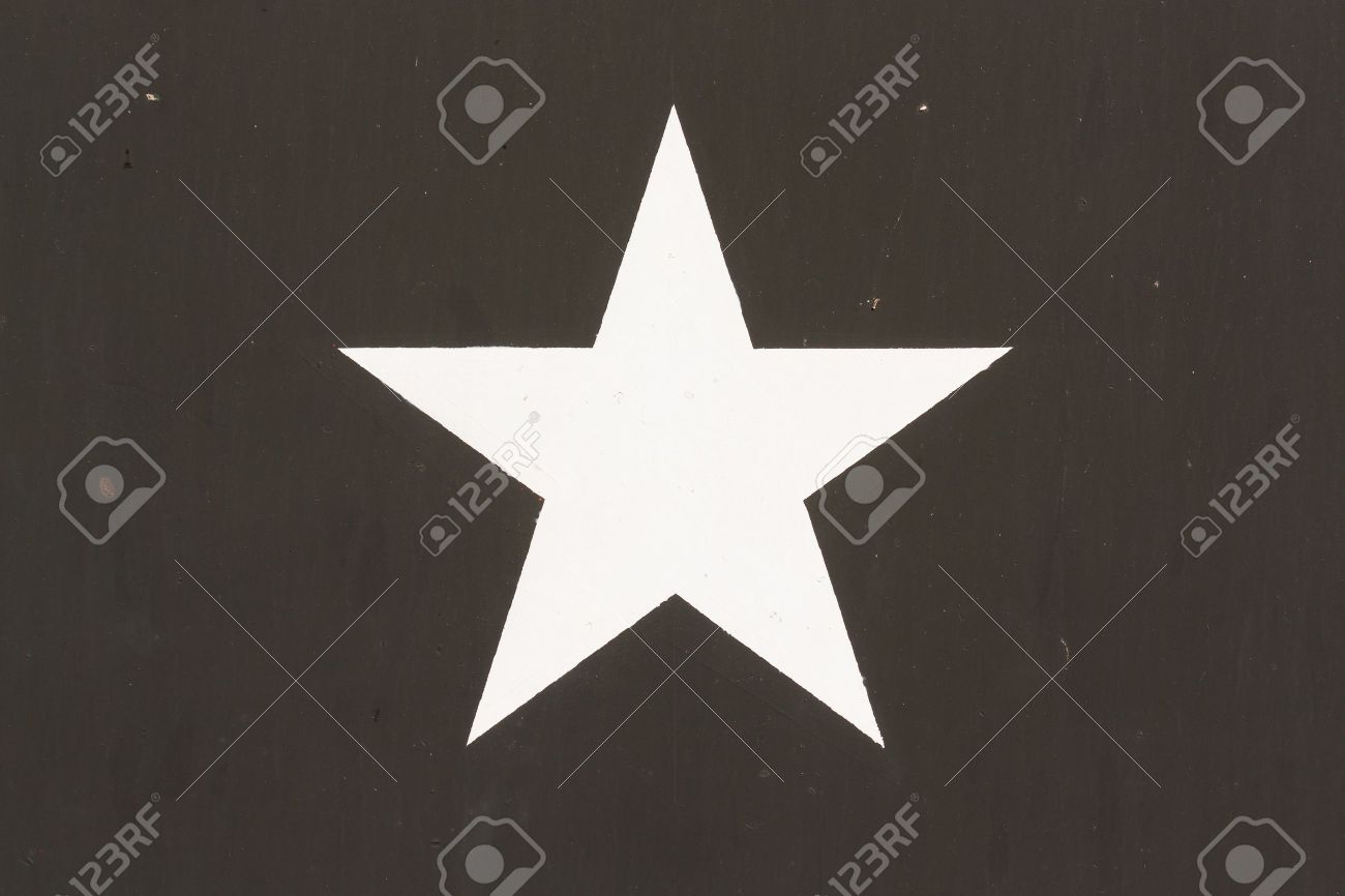 Star Symbol on a Vietnam war US Military Vehicle, isolated Stock Photo - 15192589