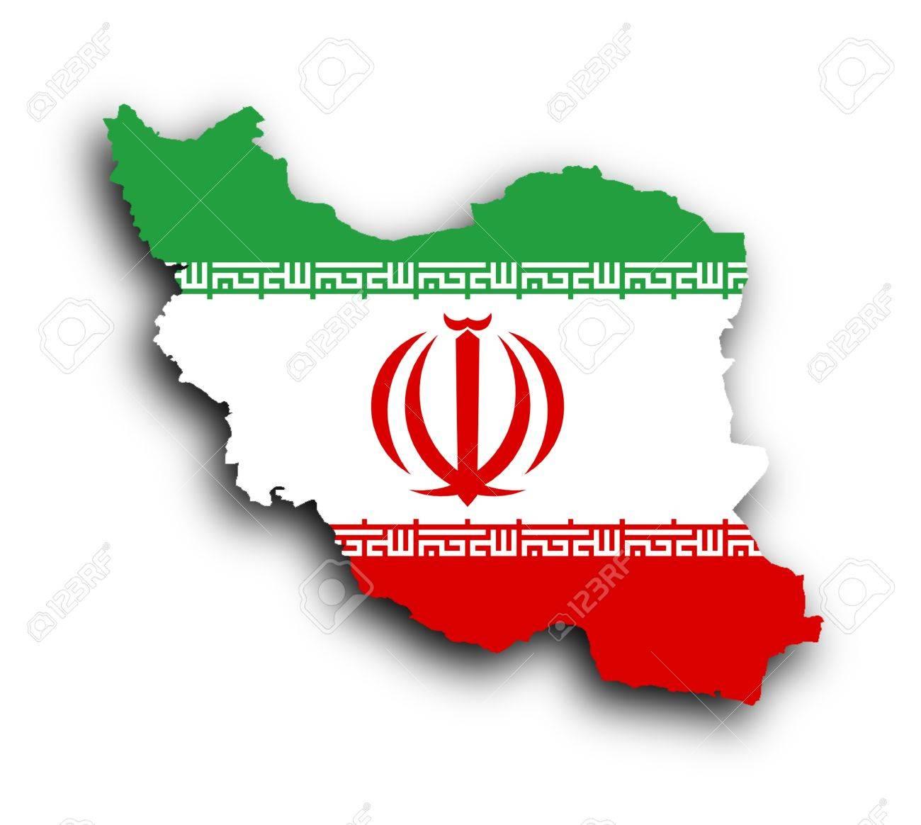 Map of iran and iranian flag illustration isolated stock photo map of iran and iranian flag illustration isolated stock illustration 17734050 buycottarizona Choice Image