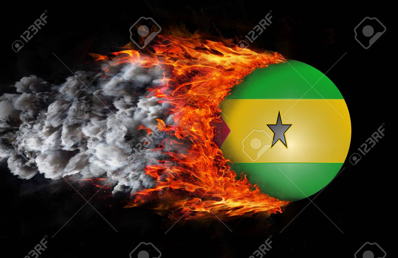 Concept Of Speed Sao Tome And Principe Flag With A Trail Of Stock Photo Picture And Royalty Free Image Image 40833775 That being said the max hit with the tome of fire, occult neckalce and thammaron's is 40. 123rf com