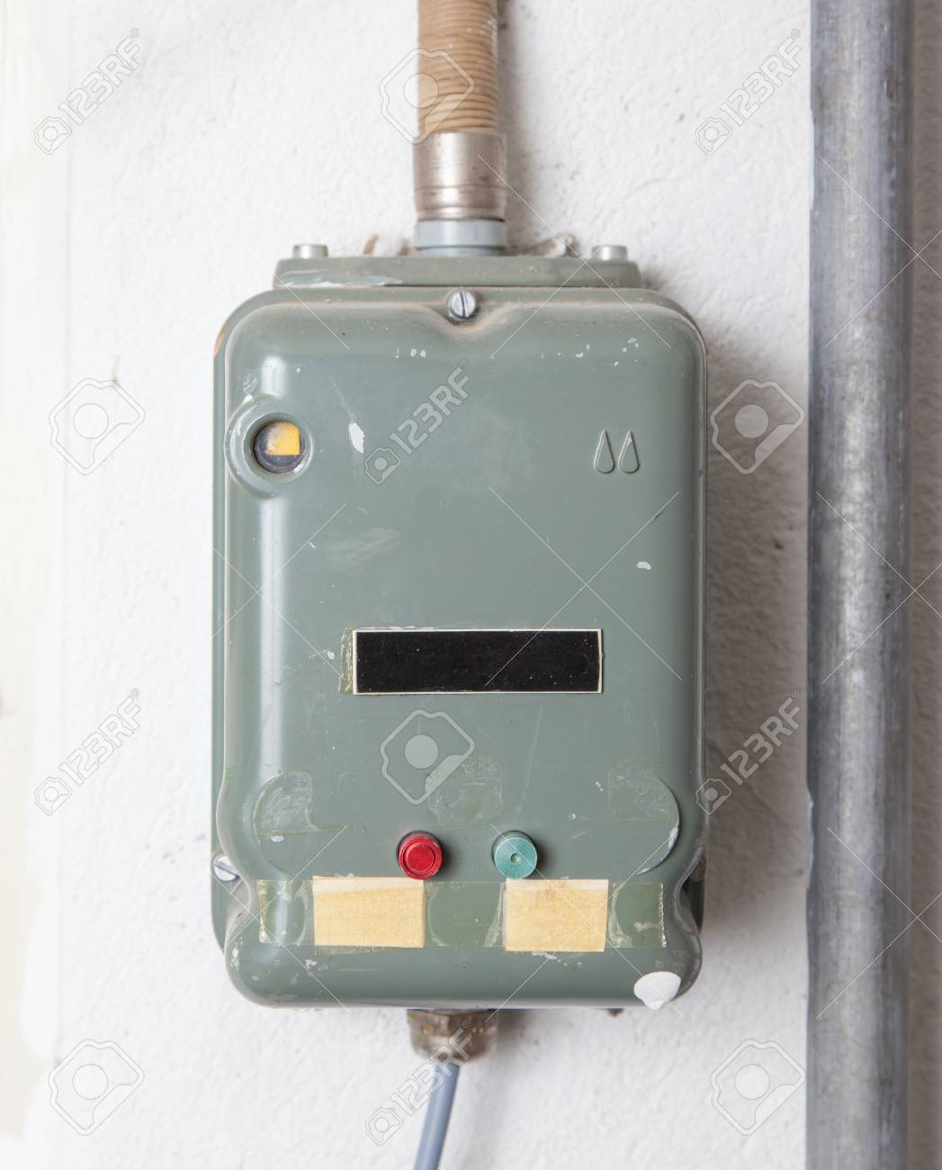 old fusebox from the 80s house in switzerland stock photo picture rh 123rf com
