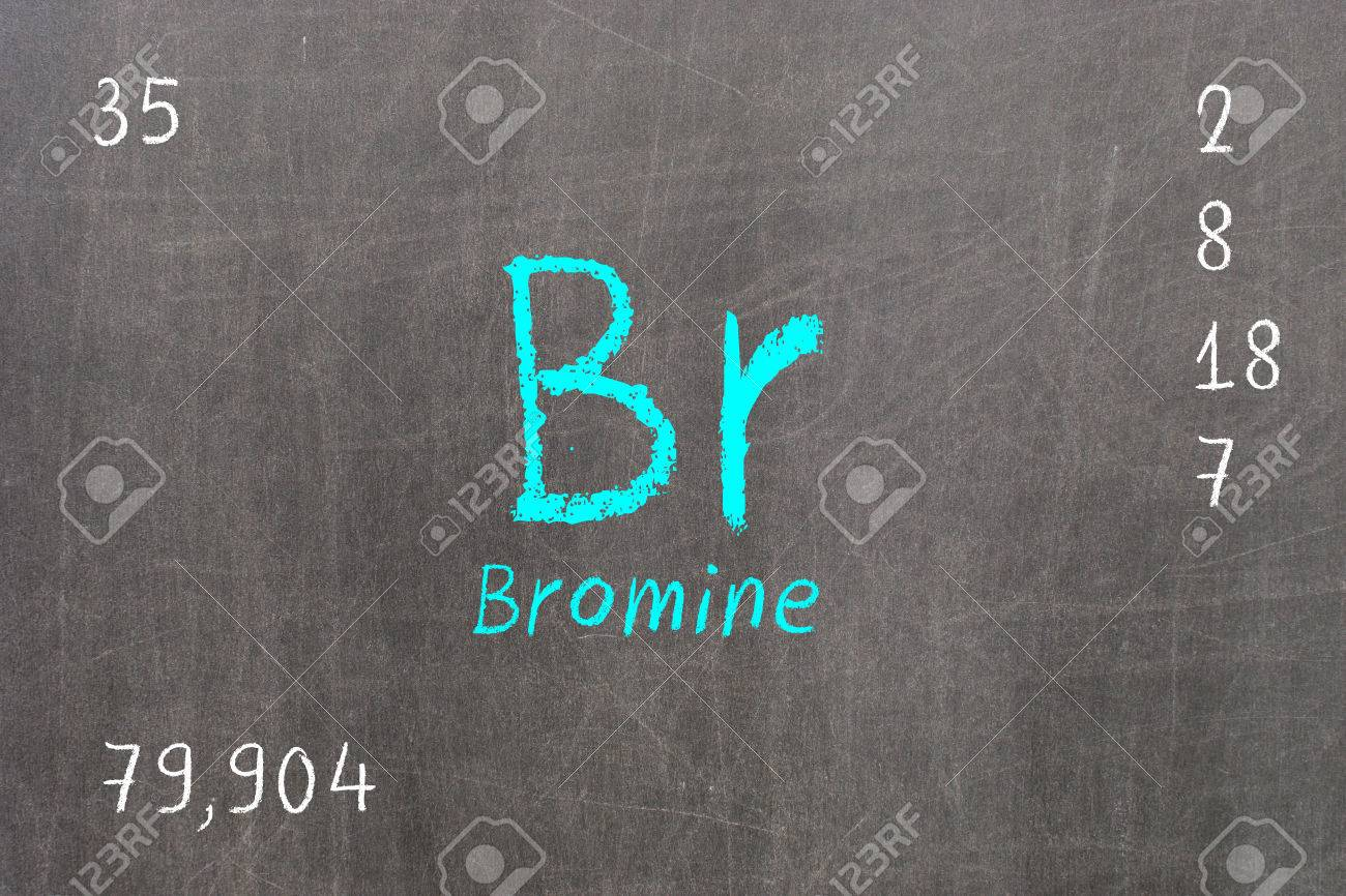 Isolated blackboard with periodic table bromine chemistry stock isolated blackboard with periodic table bromine chemistry stock photo 72476545 gamestrikefo Gallery