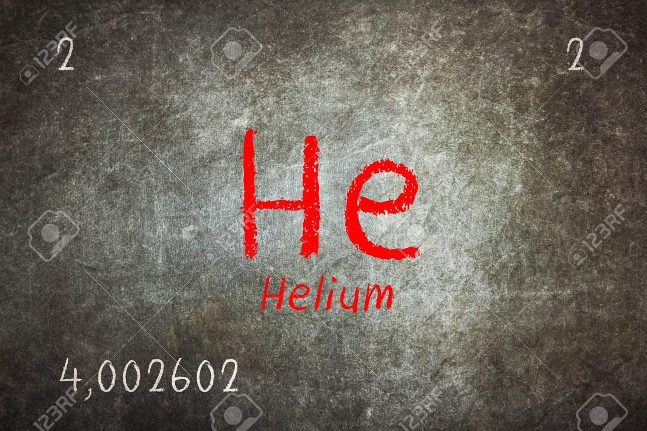 Pizarra aislada con la tabla peridica helio qumica fotos foto de archivo pizarra aislada con la tabla peridica helio qumica urtaz Gallery