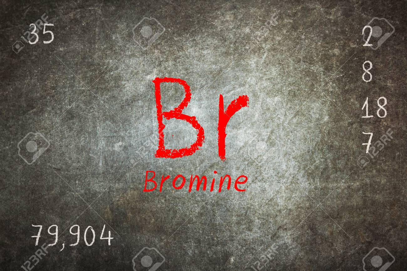 Isolated blackboard with periodic table bromine chemistry stock isolated blackboard with periodic table bromine chemistry stock photo 73276446 gamestrikefo Gallery