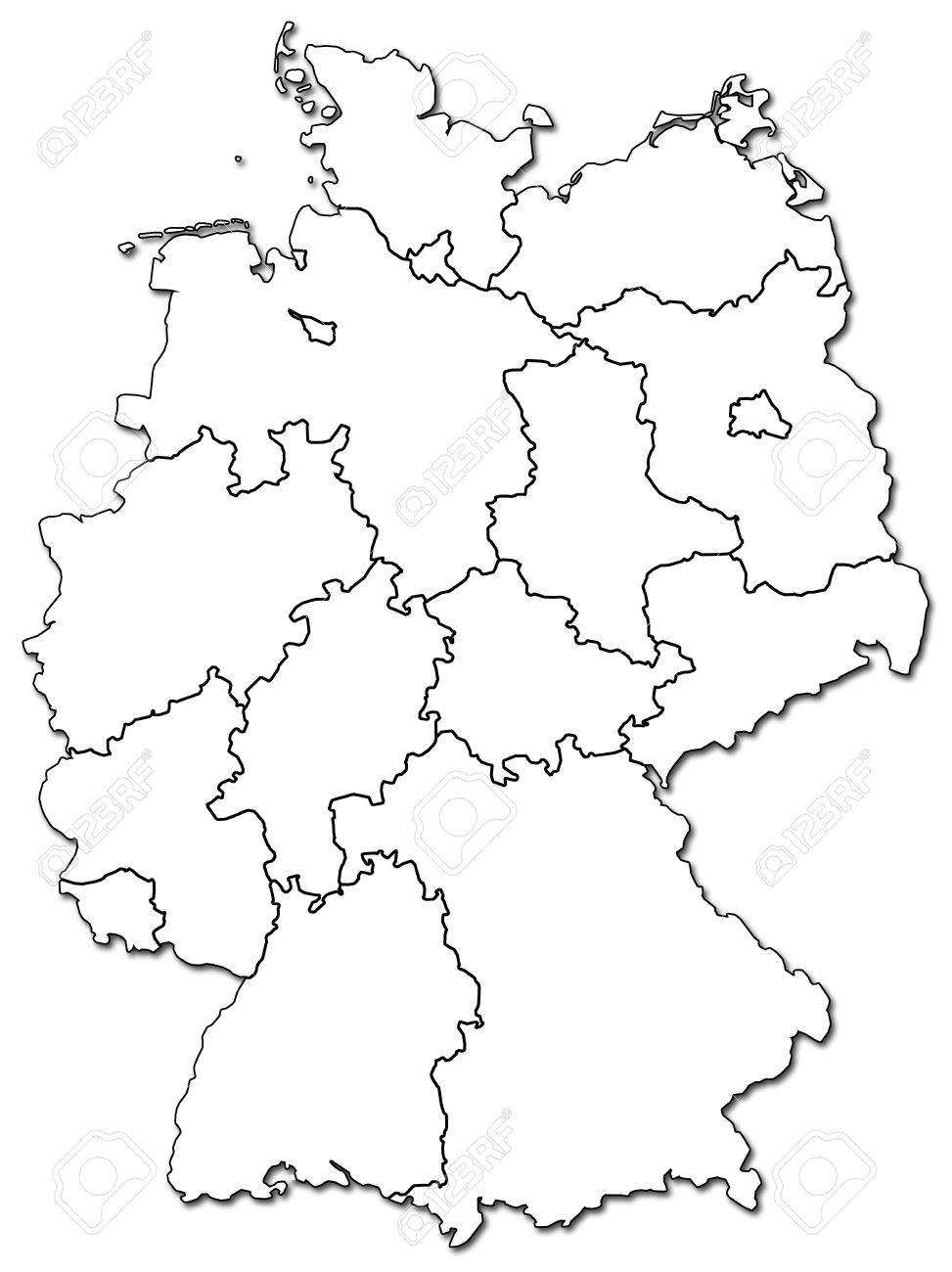 Germany Provinces Map The Bcg Growthshare Matrix - Germany map provinces