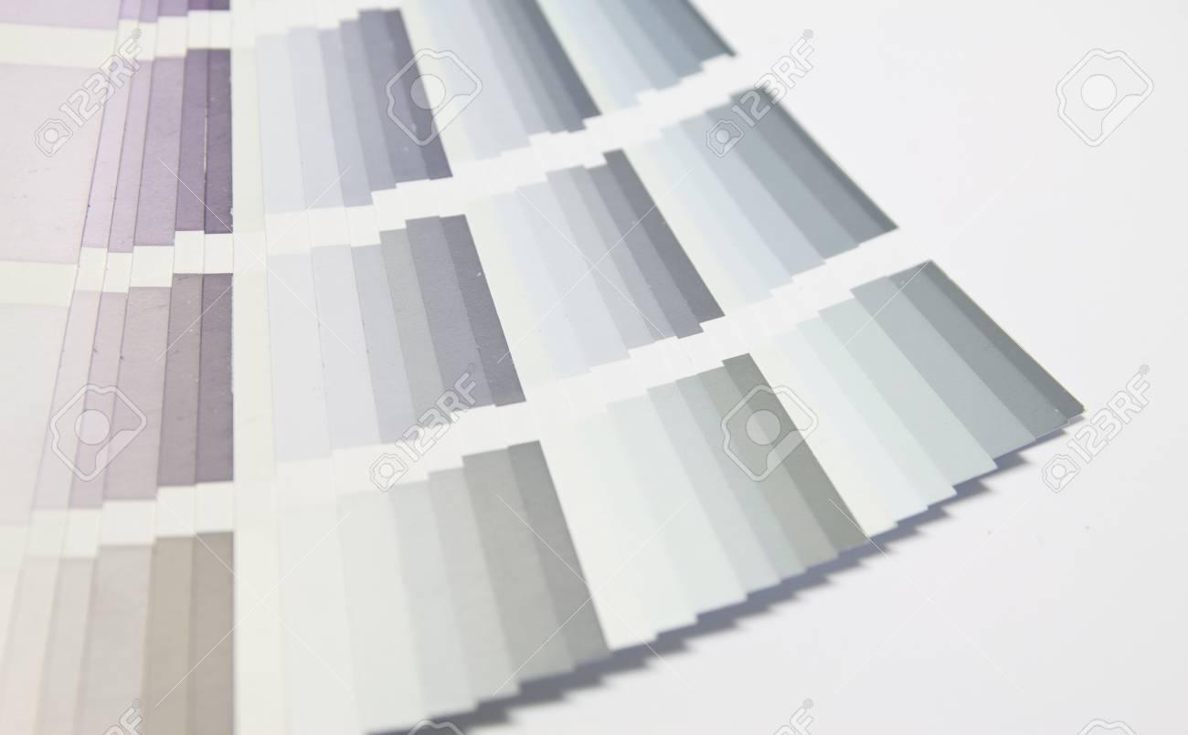 détails sélecteur de couleur avec de nombreuses couleurs différentes