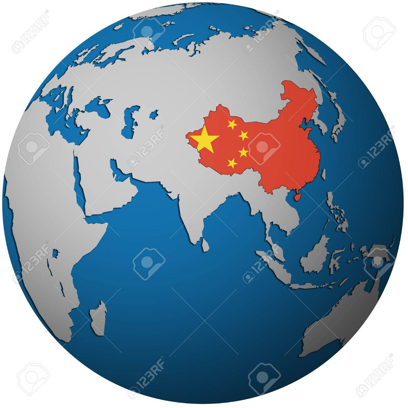 isolated over white territory of china with flag on globe map on chinese language in the world, china map business, china map market, china map art, home in the world, china map india, china map europe, china map design, costa rica in the world, china map easy, china map religion, china map cities, china map love, china map region, china map history,
