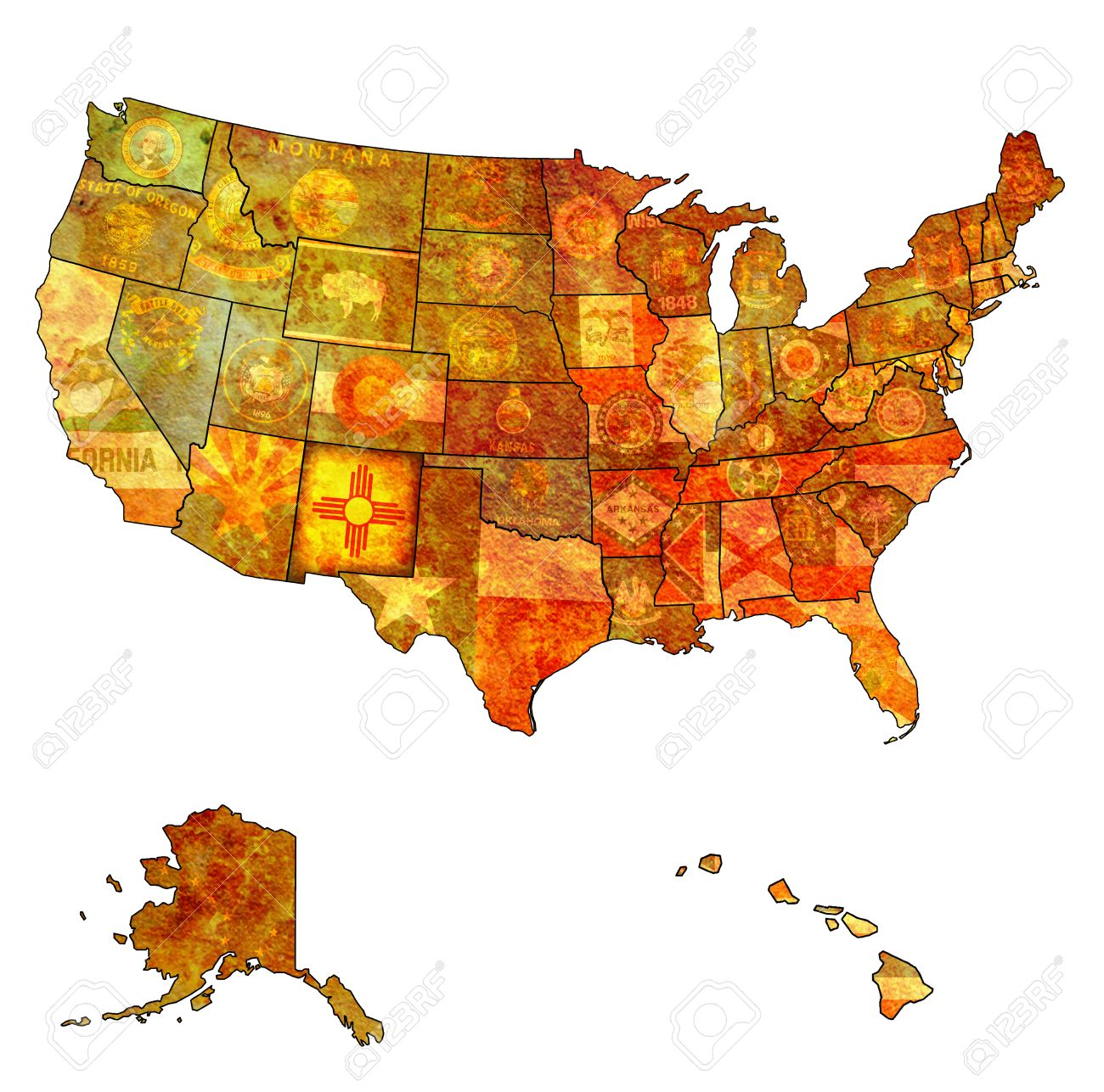 United States Map Nations Online Project Map Of California And - Us zip code county list
