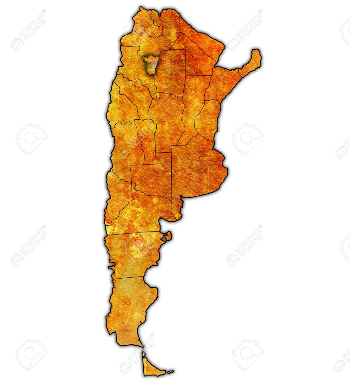 アルゼンチンの地方行政区画のマ...