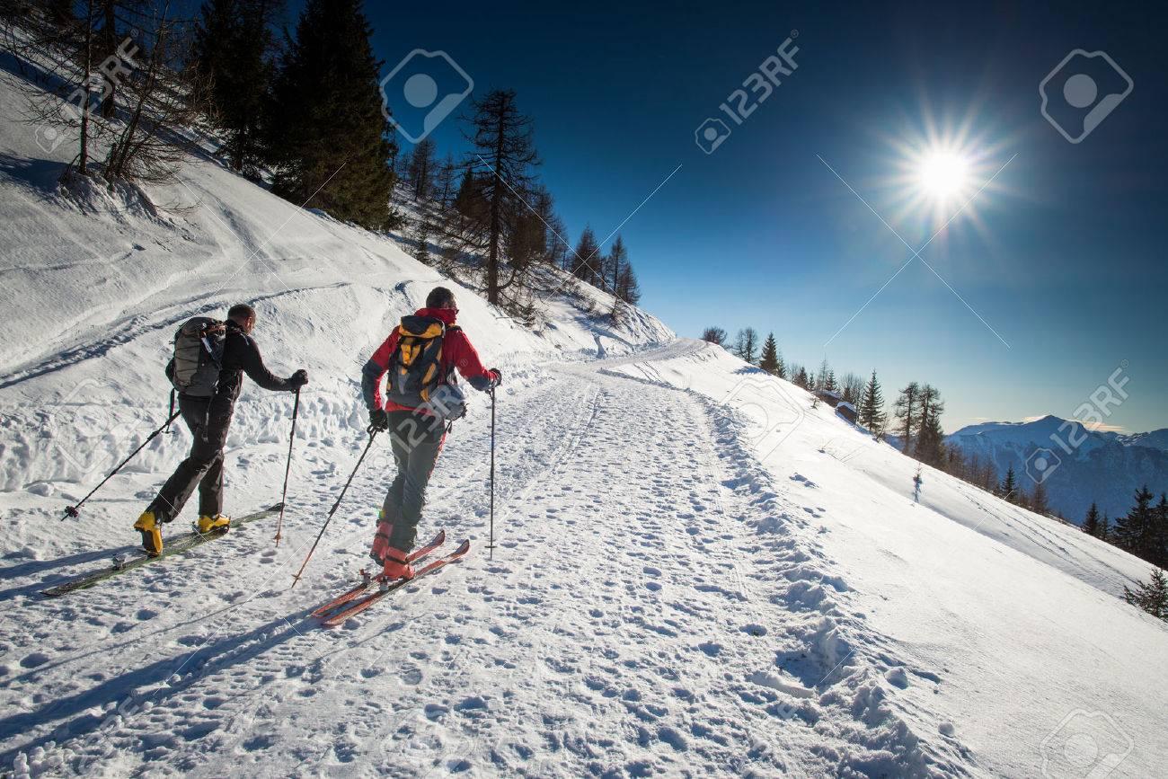 Randonnee ski trails - 37983356