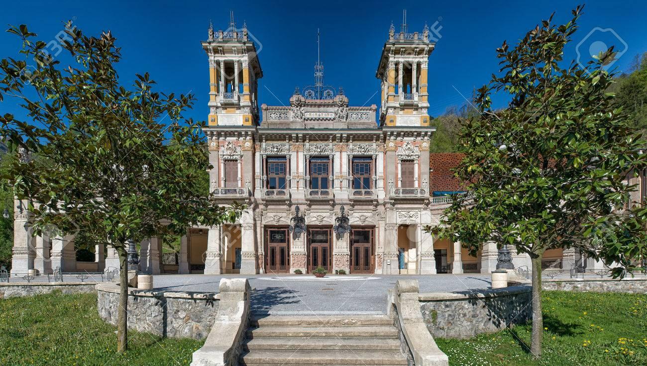 Municipal Casin of San Pellegrino Terme Bergamo Italy - 50731476