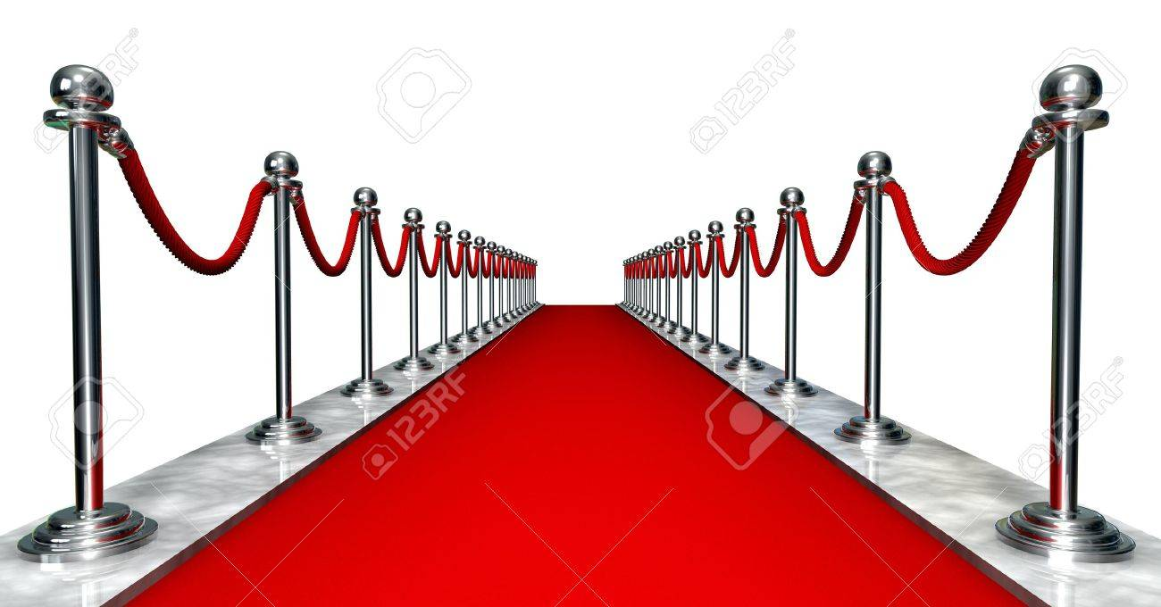 buongiorno a tutti voi amici - Pagina 3 3959718-3D-entrance-with-a-red-carpet-and-silver-poles-Stock-Photo