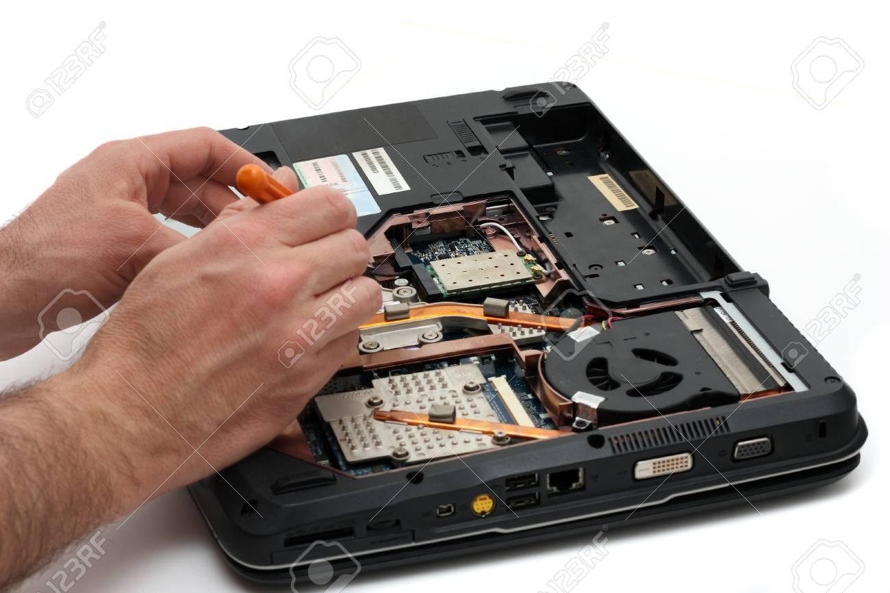 Portable failure Stock Photo - 17211985