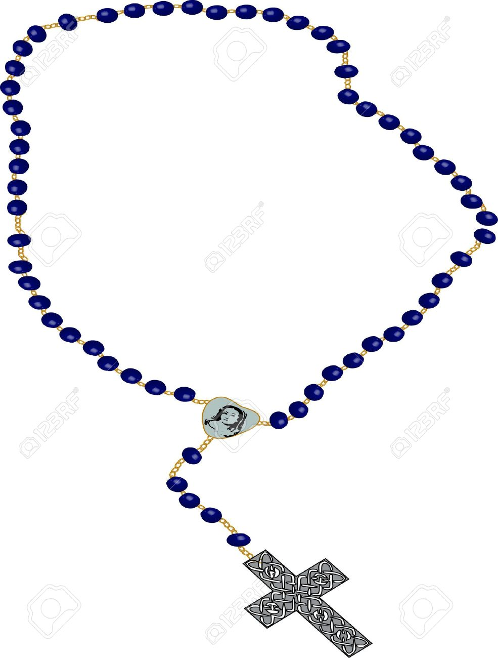 rosary clip art illustration on white background stock photo rh 123rf com rosary clipart free download rosary clipart free