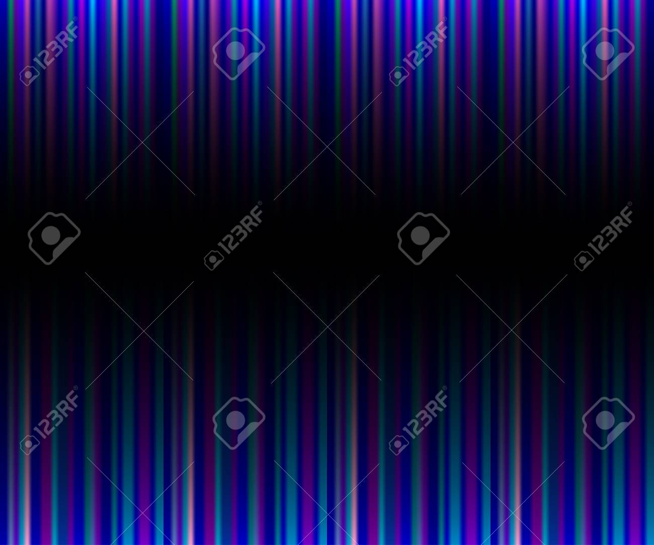 Marvelous Abstract Black Neon Background With Vertical Pink, Purple Stripes Stock  Vector   89515954