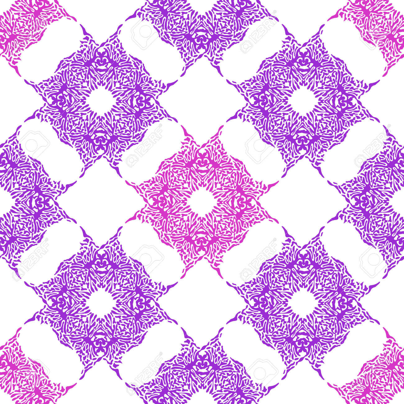 Abstract color splash, seamless pattern. Spray paint on a white background. - 170550045