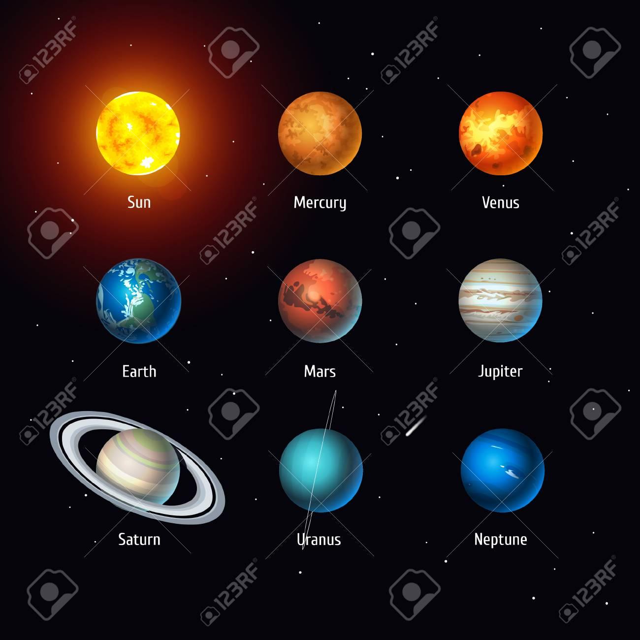 soleil-et-planetes - Photo