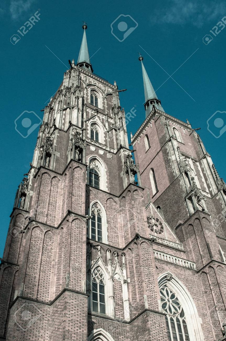 Cathedral in Wroclaw Stock Photo - 20895489