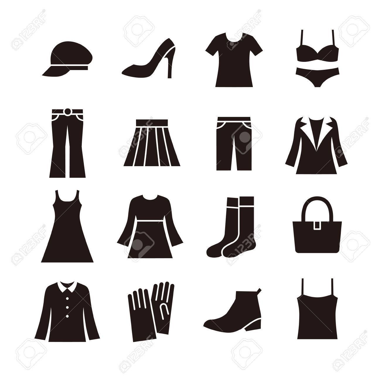 Banque d\u0027images , Icône de la mode pour dames