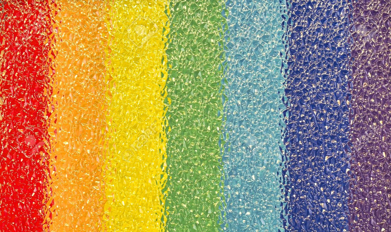 photo of rainbow background in the crystals Stock Photo - 12766765