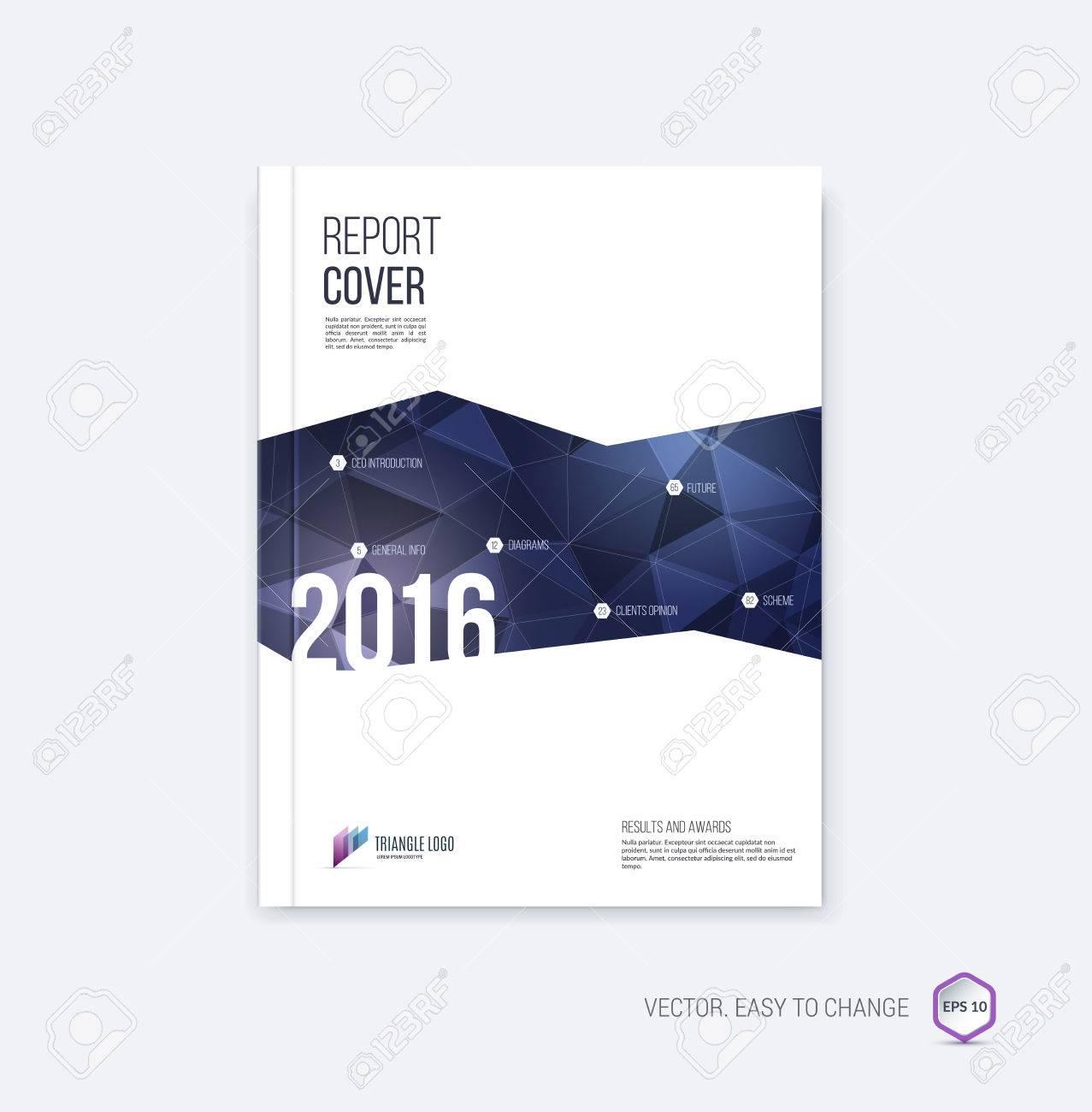 Folleto Resumen De Diseño, Cubre Plantilla De Informe Anual, Revista ...