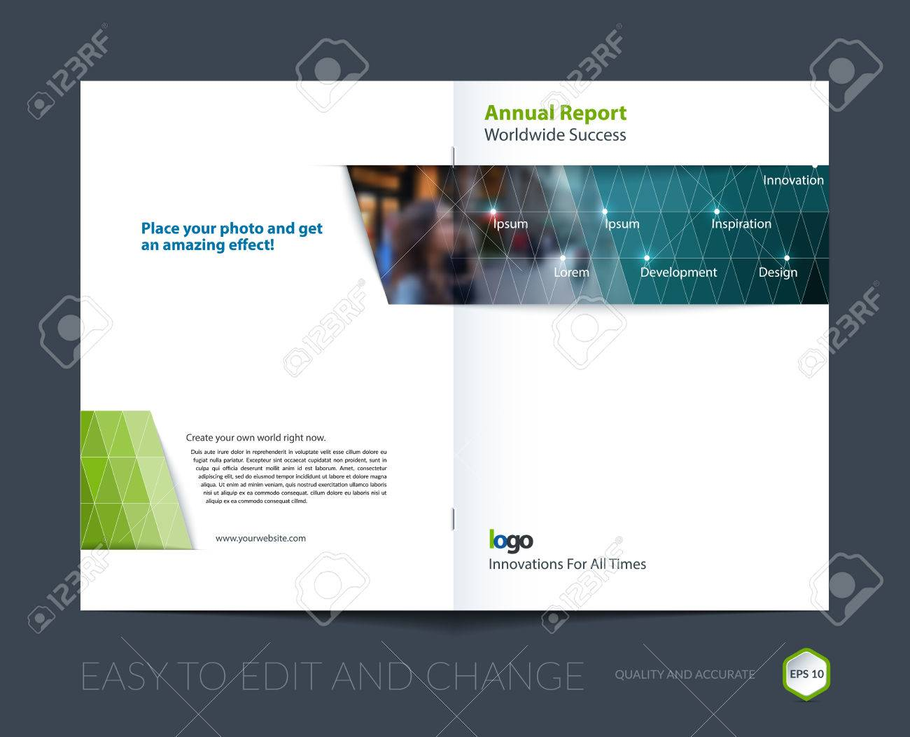 brochure template layout cover design annual report magazine flyer leaflet in a4