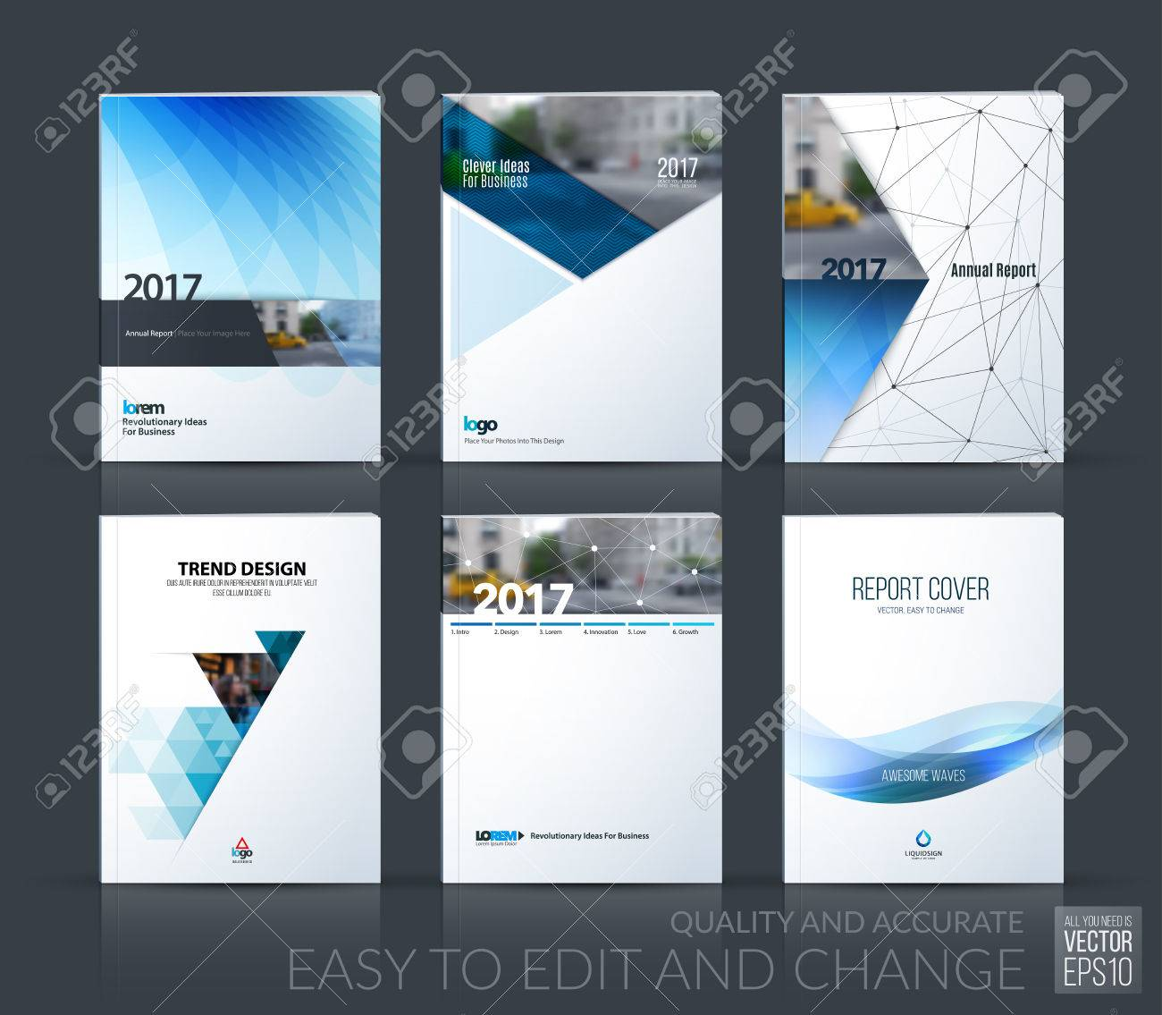 Brochure Template Layout Cover Design Annual Report Magazine - Construction brochure templates