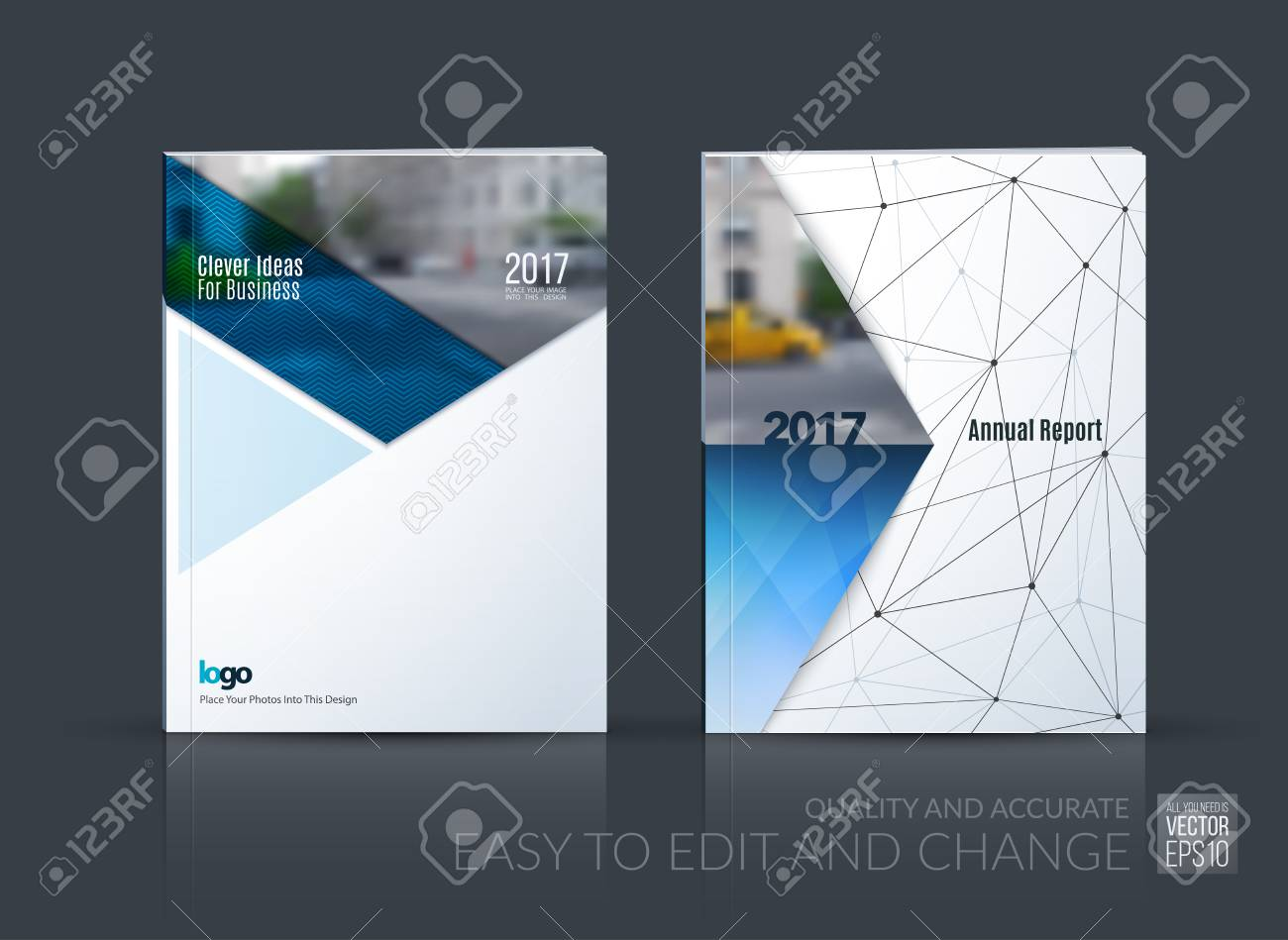 Brochure Template Layout, Cover Design Annual Report, Magazine, Flyer,  Leaflet In A4