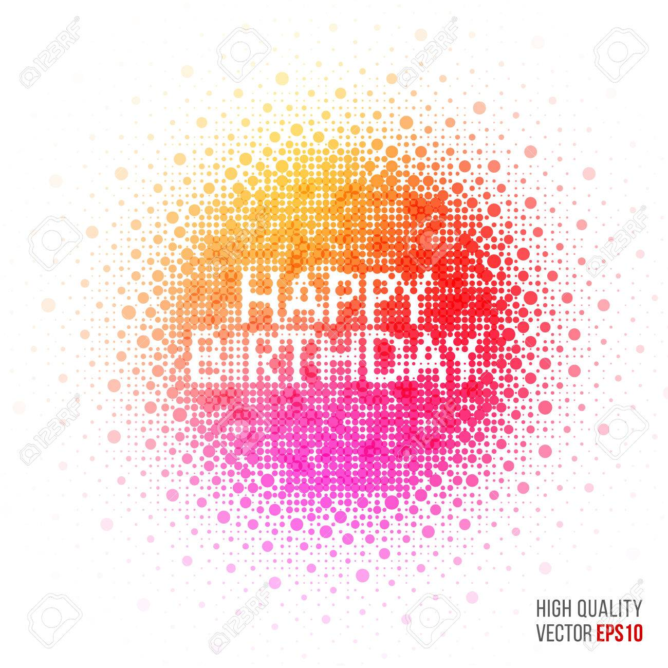 Happy Birthday Beautiful Design Element For Greeting Card Template