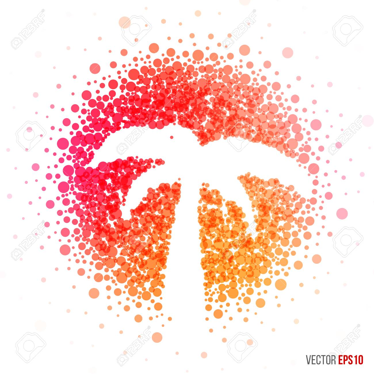 Summer Palm Beautiful Design For Greeting Card Template Layout