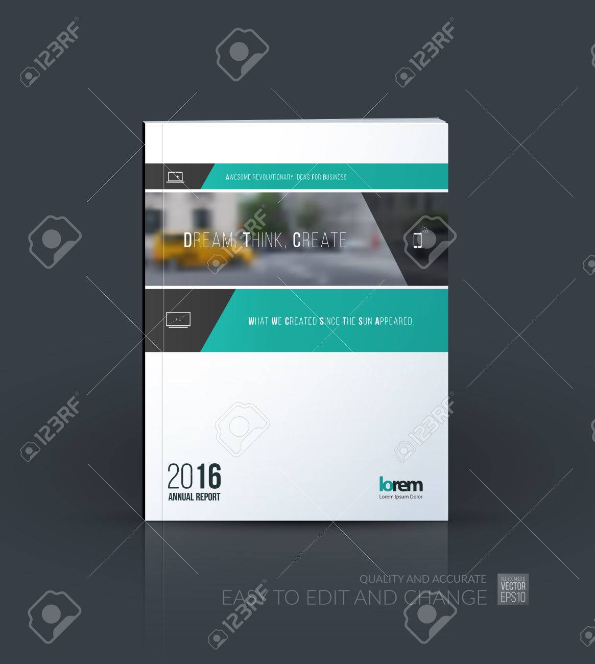 Brochure Template Layout Collection Cover Design Annual Report - Consulting brochure template