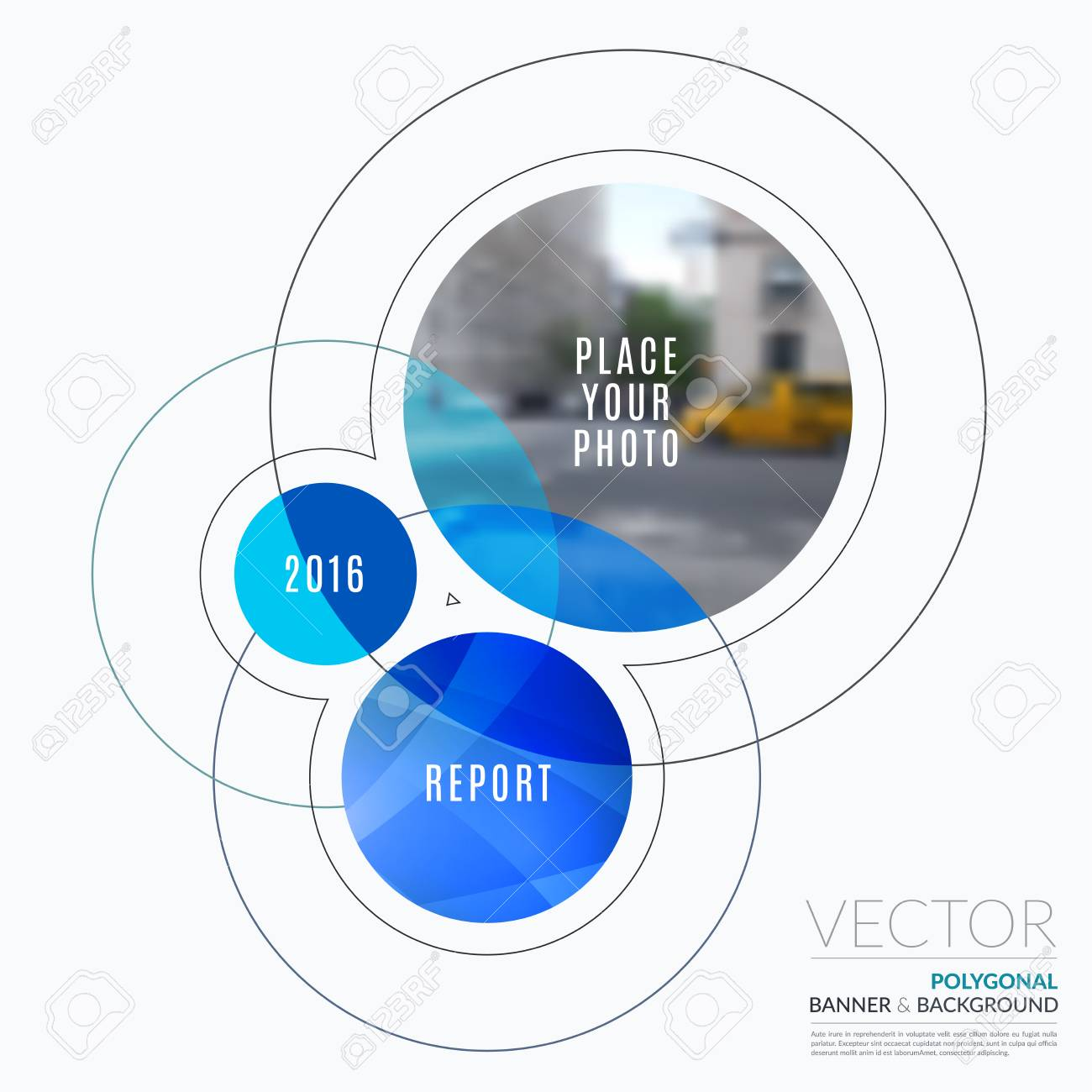 Business design elements for graphic layout modern abstract business design elements for graphic layout modern abstract background template with rounds circles wajeb Image collections