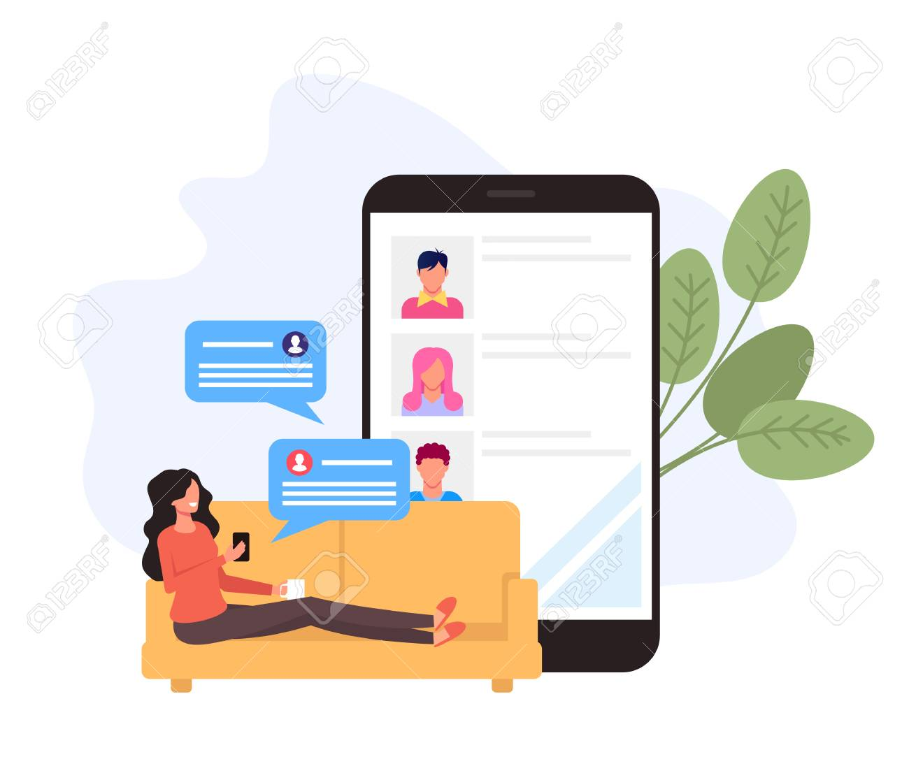 Chat online free with friends