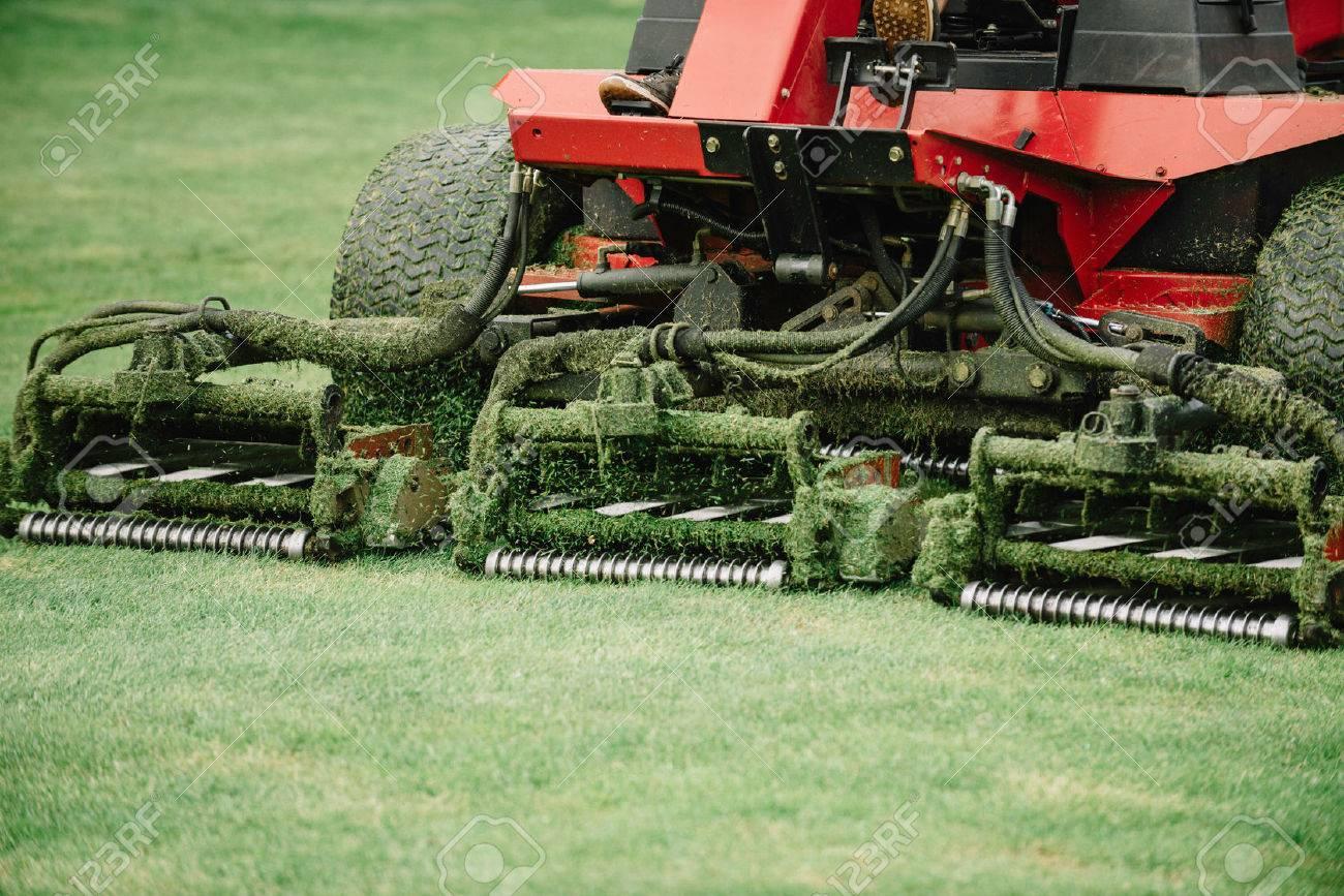Golf course maintenance equipment, fairway mower